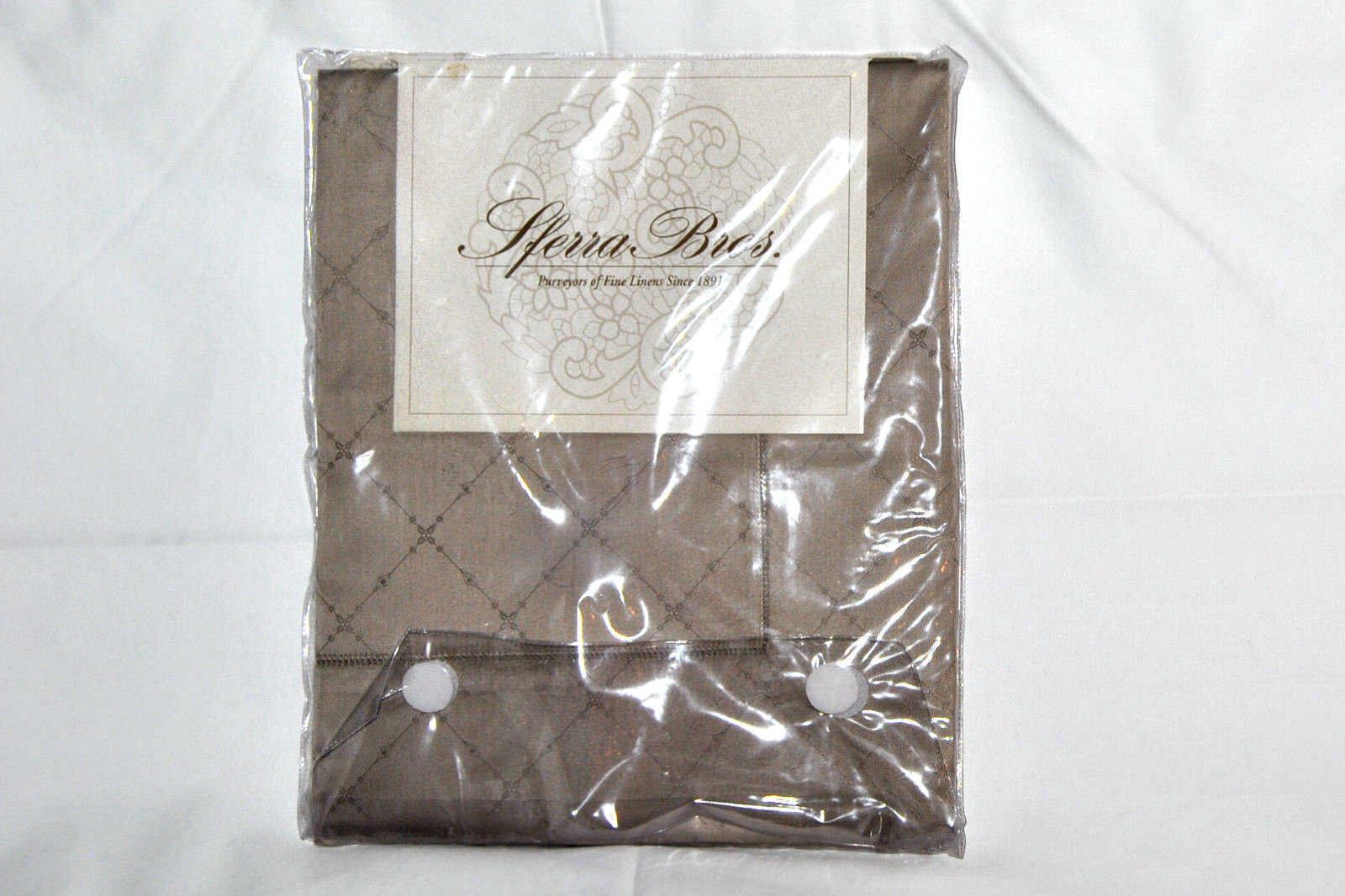 Sferra Bros  Standard Pillow Sham 100% Cotton 21