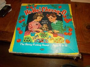 Vintage-Hi-Ho-Cherry-O-Cherry-Picking-1960-Whitman-Game-Used-Condition-Hi-Ho