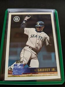 1996-Topps-Baseball-Card-Ken-Griffey-Jr-H-O-F-Seattle-Mariners-205