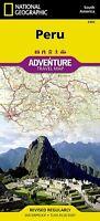 Peru Adventure Travel Map National Geographic Waterproof