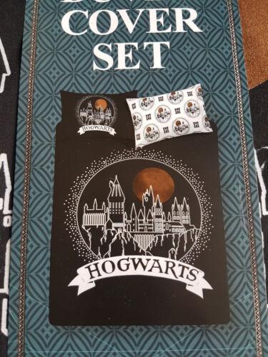 BNWT Primark Harry Potter Hogwarts duvet cover set-simple o doble