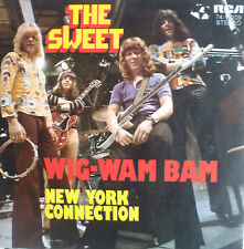 "7"" 1972 GLAM KULT IN MINT- ! THE SWEET : Wig Wam Bam"