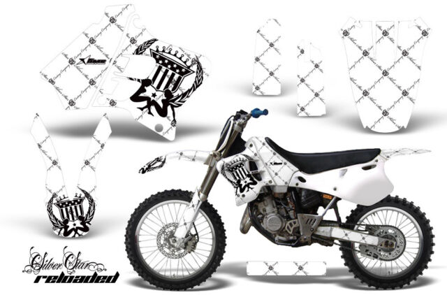 Dirt Bike Graphic Kit Decal Sticker Wrap For Yamaha YZ125 YZ250 93-95 RELOAD K W