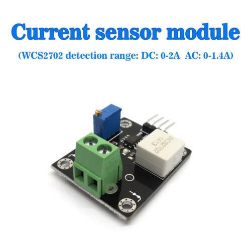 Electronic Wcs2702 Hall Current Sensor Module Range AC0-1.4A DC0-2A