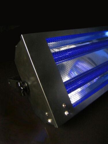 Schwarzlicht Flutergehäuse 2 x 60cm 18W UV Strahler Schwarzlichtbeleuchtung