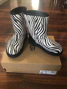 doos Ugg 1019123 in Classic Exotic Gloednieuw Zebra laarzen 5 W maat QshCrtd