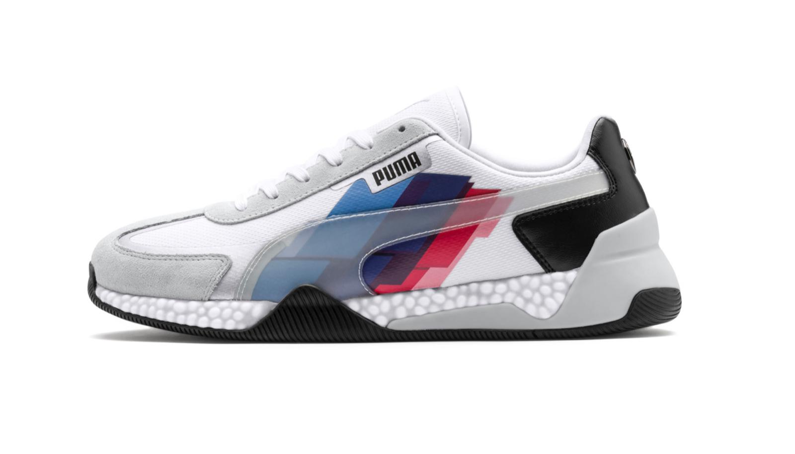 Puma BMW M Motorsport Speed HYBRID   306468 01bianca Men SZ 8 - 13 Sautope classeiche da uomo
