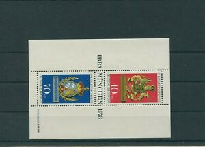 Germany-Federal-Frg-vintage-yearset-1973-Block-9-Mint-MNH-More-Sh-Shop