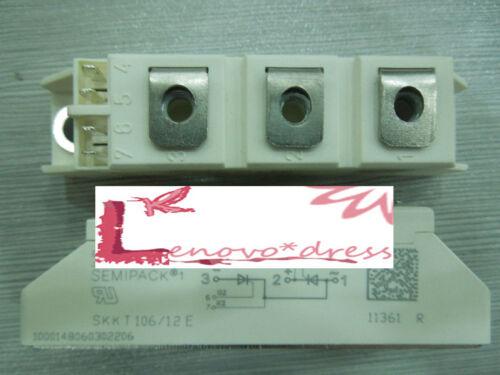 SEMIKRON Module SKKT106//12E SKKT10612E SKKT106-12E 1200V New free ship #J784 lx
