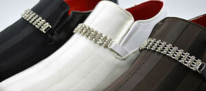 À Noir Enfiler Modèle Diamant Italien Allure blanc Hommes Cuir Chaussures xZfwY6W8q