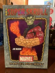 The-Super-Skrull-Sculpted-By-Jim-Maddox-Marvel-Mini-Bust