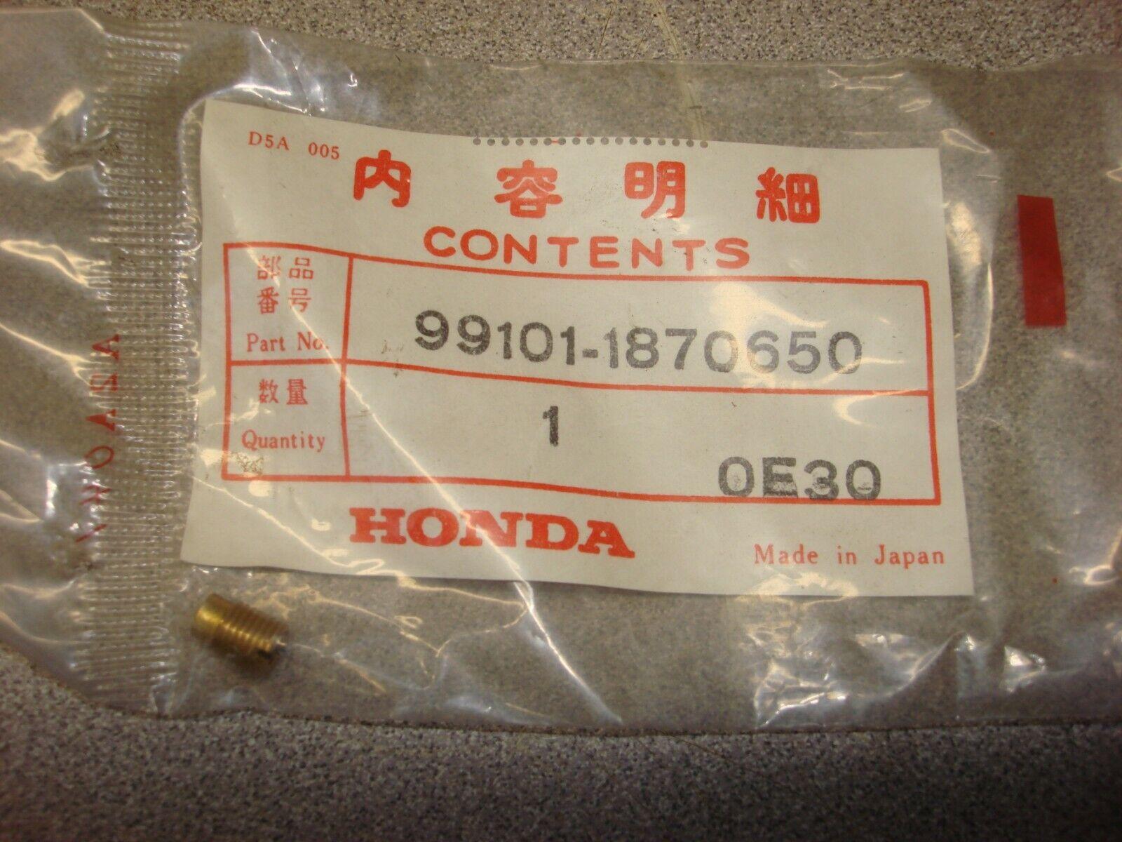 NEW HONDA MAIN JET 99101-2F50680