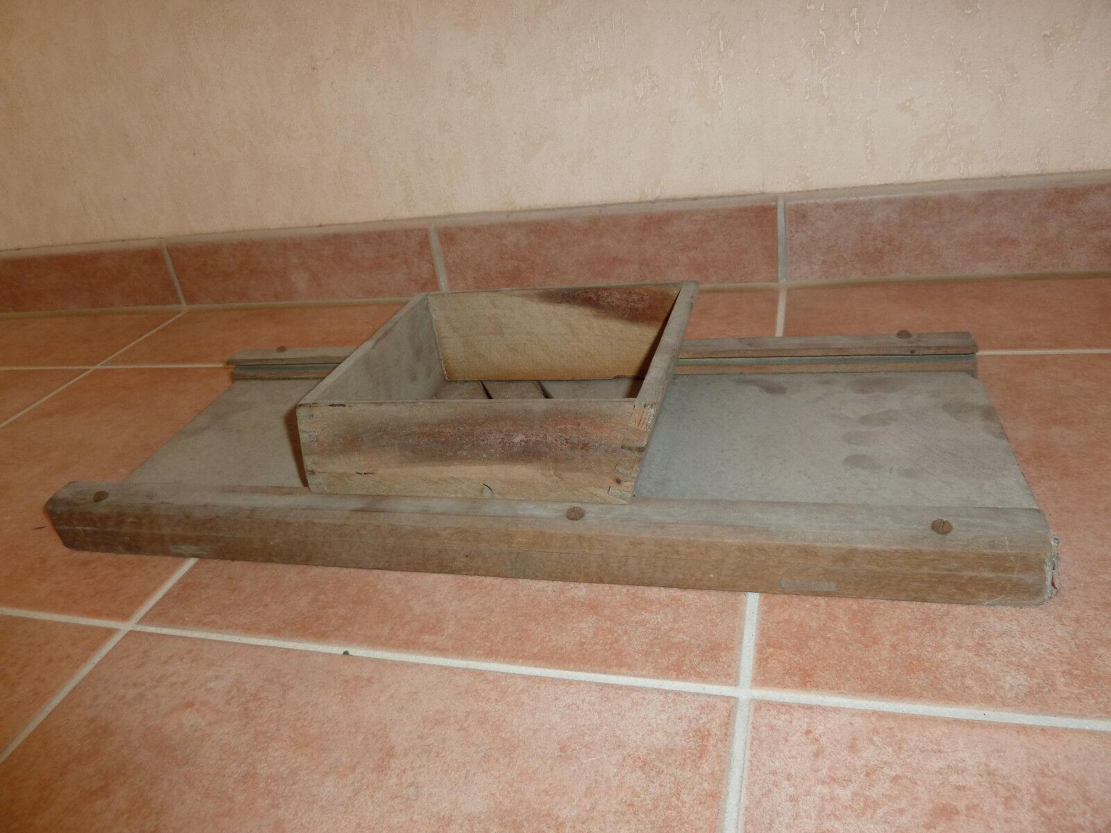 Antique bois Doux Coupe Rape doux Rape de Cuisine Rape combiplus DE COUPE PLANCHE