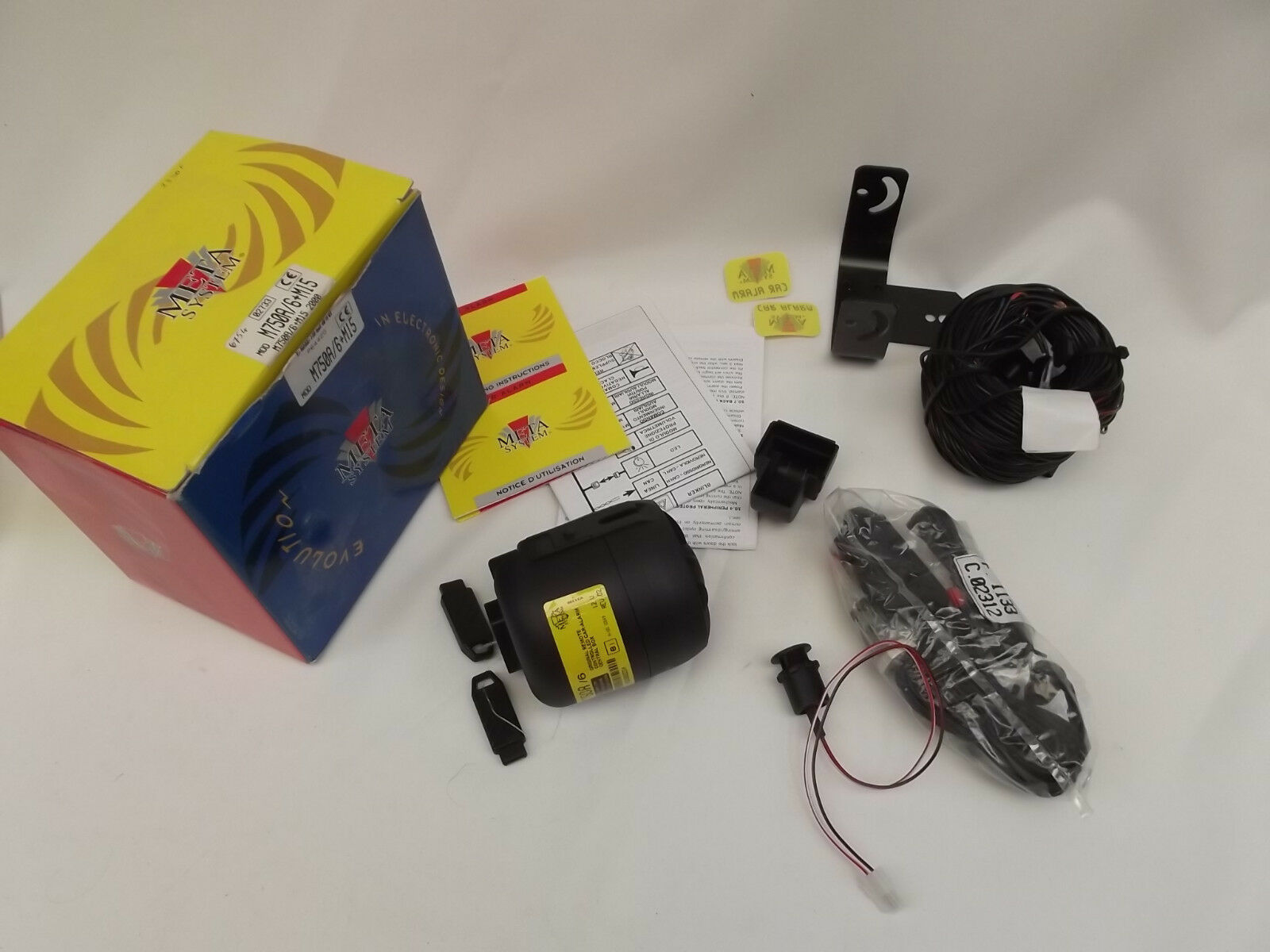 META SYSTEM M750A 6+M15 Alarme                                    mb60