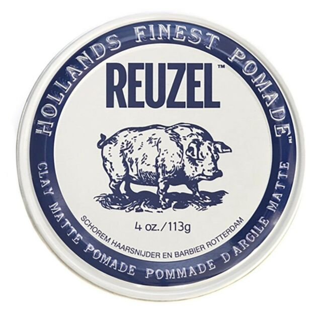 REUZEL CLAY PIG MATTE POMADE 113g FREE SHIPPING