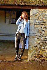 RAG & BONE Black/White Dakar Leather Moto Leggings Skiny Zip Ankle Pants 0 as is