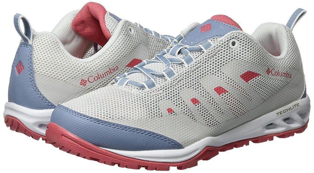 Columbia Femme Vapor Vent Trail Hiking Chaussures BL4524, Blanc/Wild Samon, SZ 10.5