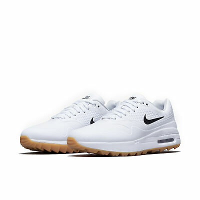 air max 1g white gum black swoosh
