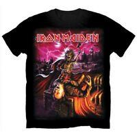 Official IRON MAIDEN Transylvania T-shirt Black Sizes S to XXL Eddie Vampire NEW