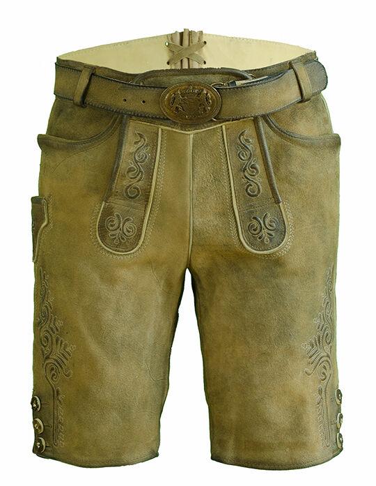 Kurze Lederhose Lederhose Lederhose Rafael sand | Online einkaufen  | Online Outlet Store  | Hervorragende Eigenschaften  | Tragen-wider  | Feinbearbeitung  67ff9a