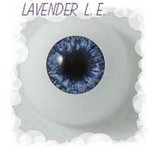 REBORN DOLL Half Round Lavender 18 mm L.E.Optical Grade ~ REBORN DOLL SUPPLIES