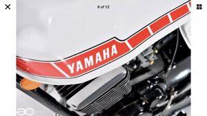 YAMAHA 1987 YFM80T YFM 80 T Badger Original Owners Manual ~NEW~