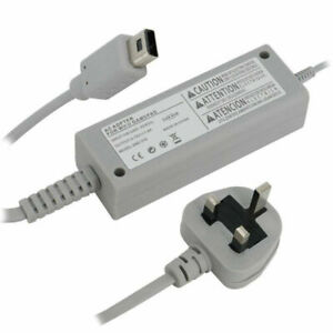 AC-Power-Adapter-Connector-Cable-Charger-Charging-For-Nintendo-Wii-U-UK-Plug