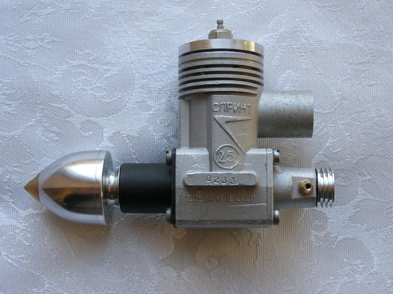 Motor Glow SPRINT 2.5cc F2A Velocidad. URSS
