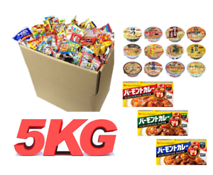 Japanese-Curry-Ramen-noodles-Candy-Snack-Dagashi-grocery-Box-5kg