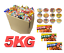 Japanese-Curry-Ramen-noodles-Candy-Snack-Dagashi-grocery-Box-5kg miniature 1