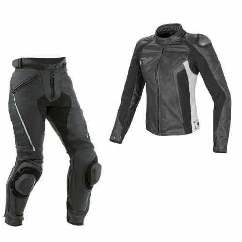 MEN/'S MOTORBIKE COWHIDE LEATHER SUIT MOTORCYCLE SUIT JACKET TROUSER 1 or 2-PIECE