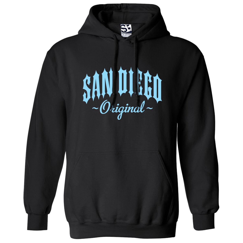 San Diego Original Outlaw HOODIE - Hooded OG Straight Outta Sweatshirt All Farbe