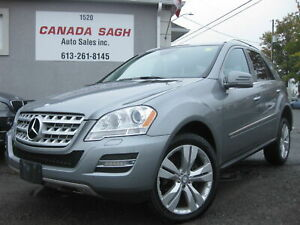 2011 Mercedes-Benz M-Class DIESEL/NAVI/SUNROOF/CLEANCARFAX/ONLY 133K/12 M WRTY+SAFETY