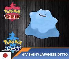 6IV Shiny Ditto Japanese Pokemon Sword & Shield Destiny Knot - Masuda Method!