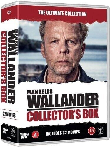 Wallander Alle 32 film!, COLLECTORS ULTIMATIVE BOX, DVD