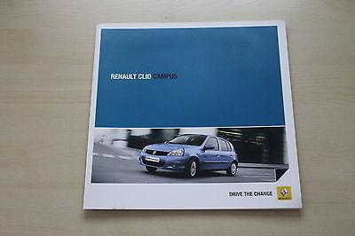 Rational 171725 Renault Clio B Campus Prospekt 06/2011 Gut FüR Antipyretika Und Hals-Schnuller Auto & Verkehr