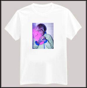 Lil Peep Photo Tee T Shirt Rip Gustav Ahr Gothboiclique Gbc Lil
