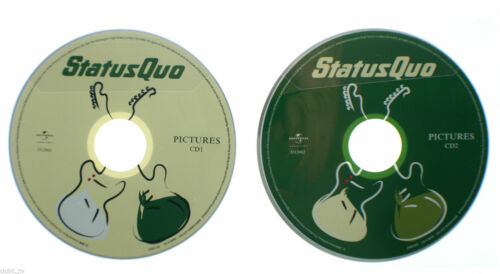 1 of 1 - Status Quo - Pictures 40 Years of Hits 2008 Music CD DISC ONLY in Sleeve