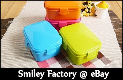Japanese Style Lunch Box Bento Snack Box OKAY with Microwave Food Grade Safe