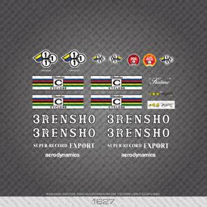 3 Rensho Bicyclette Autocollants-Decals-Transferts-Blanc - 01627-afficher le titre d`origine wRHPq8V6-07150752-489676614