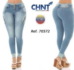 Jeans Colombiano Levanta Cola Push Up 70572 Ebay