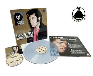 Elvis-Collectors-LP-Tracks-039-n-039-Grooves-Clear-Edition