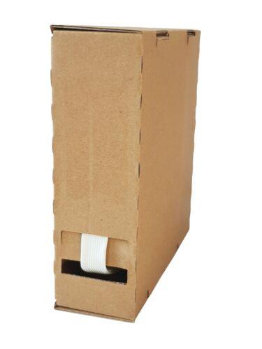 sin recubrir din40620 spenderbox minibox 20m glasseidenschlauch 10mm blanco roh