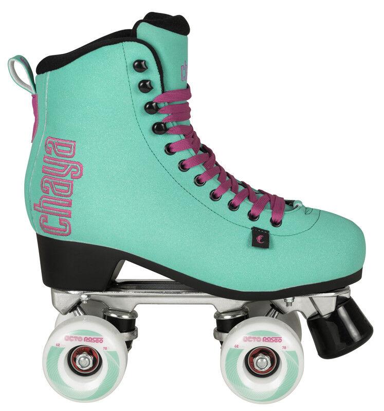Chaya Melrose Deluxe Turquoise Quad Skates Rollschuhe Powerslide Rollerskates