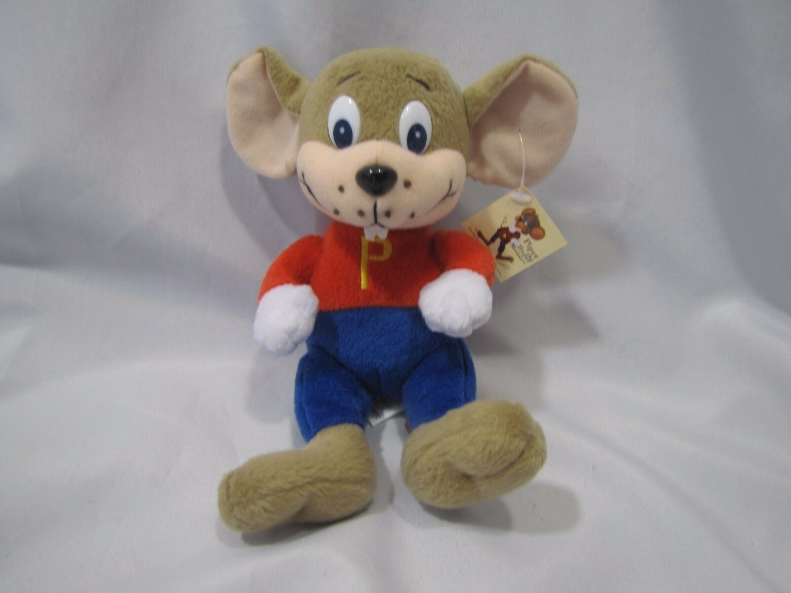 PIPER THE HYPER PLUSH MOUSE STUFFED BEAN BAG TOY MARK MARK MARK LOWRY BOOK CHARACTER DOLL 5be