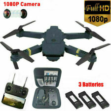 Drone X Pro WIFI FPV 1080P HD Camera +3 Batteries Foldable Selfie RC Quadcopter