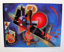 Wassily Kandinsky IN BLUE Estate Signed Small Limited Edition Art