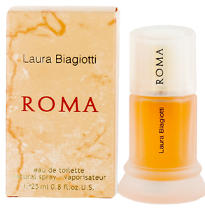 Roma-by-Laura-Biagiotti-For-Women-EDT-Perfume-Spray-0-8oz-New-In-Box