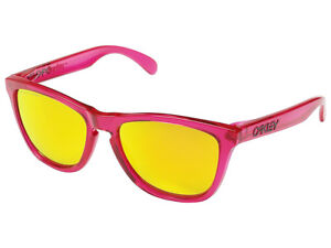 Oakley-Frogskins-Polarized-Sunglasses-24-357-Acid-Pink-Fire-Iridium
