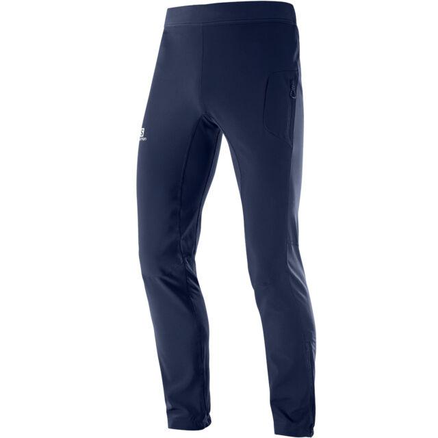 Salomon Rs Warm Softshell Pant Men/'s Training Tracksuit Bottoms Winter Sports